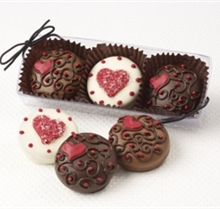 Valentine S Day Chocolate Covered Oreos